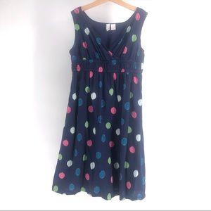 Girls polka dot summer dress 10-12